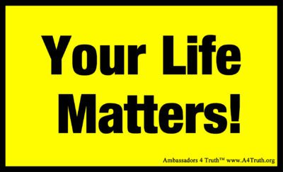 Your Life Matters Gospel Tract Front_Post Card Size