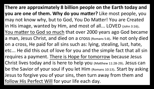 Your Life Matters Gospel Tract Back_Business Card Size