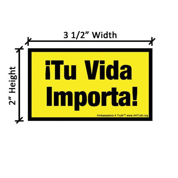 Your Life Matters Spanish_Mini_Dimensions