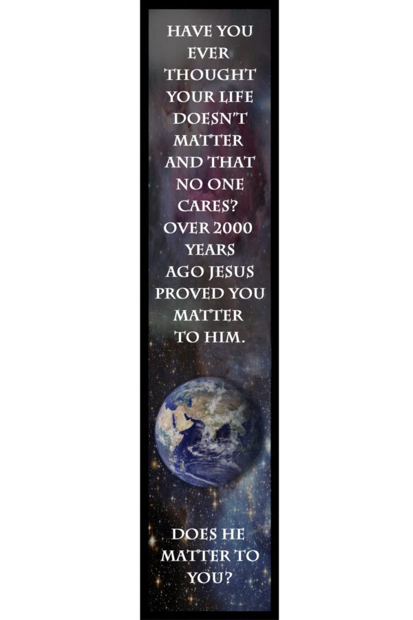 You Matter Bookmark Front