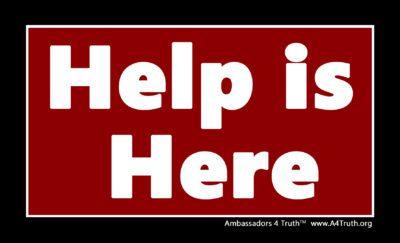 Help is Here Gospel Tract_Front
