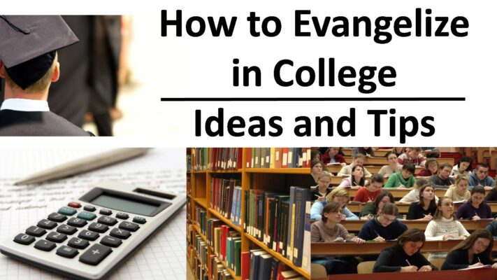 How to Evangelize in College