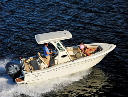 Scout 225 LXF Rental Boat with Peconic Water Sports in Long Island New York Near Montauk and Sag Harbor