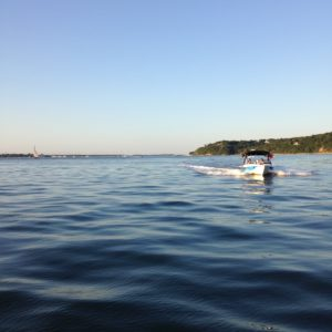 Wakeboarding in the hamptons