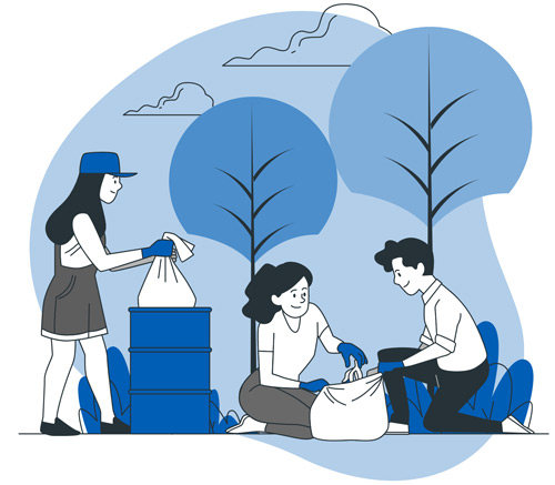 Promote Community Service to Engage Younger Members