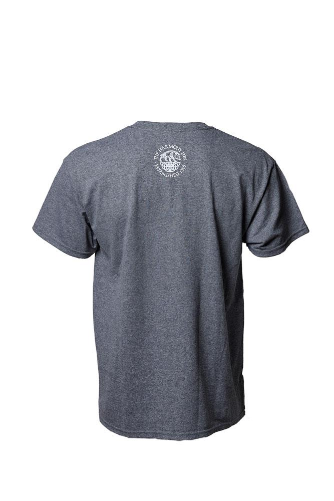 Peace Love and Harmony Grey T-Shirt