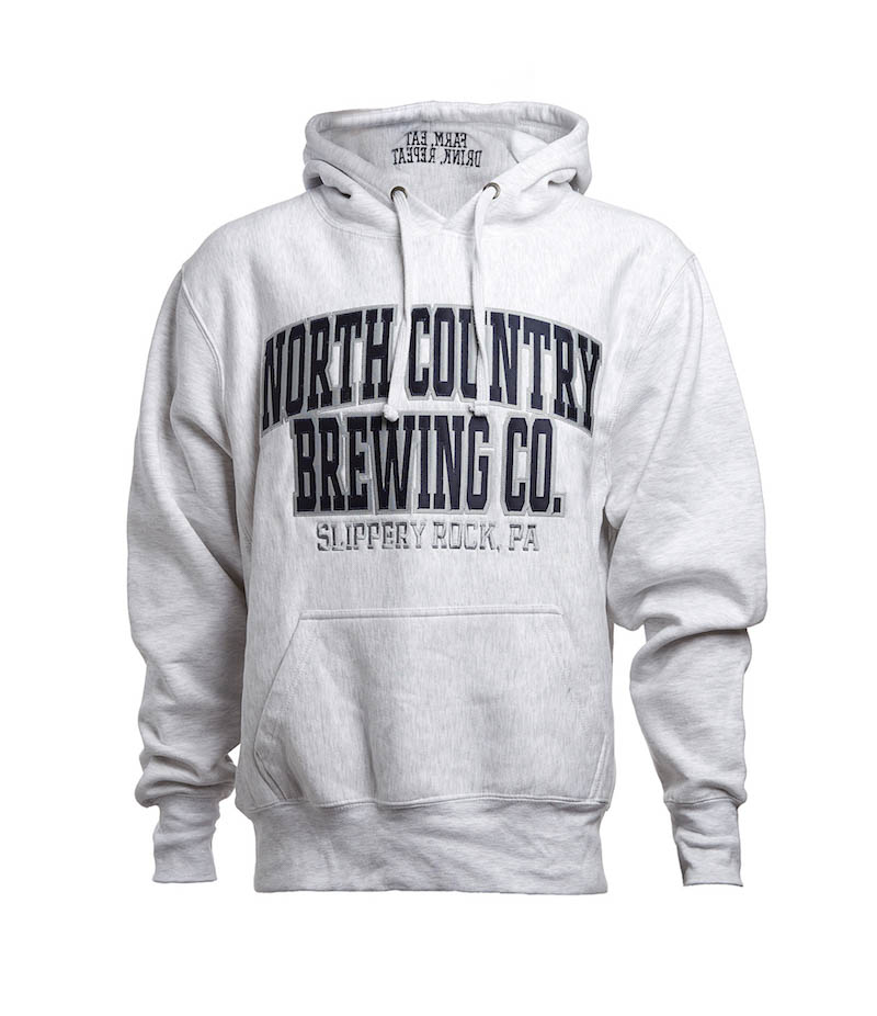 NCBC Premium Hoodie - Grey Farm-Eat-Drink-Repeat