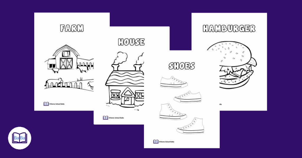 Free printable coloring pages for children - preschool coloring pages