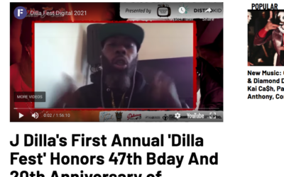 DILLA FEST DIGITAL – REPLAY