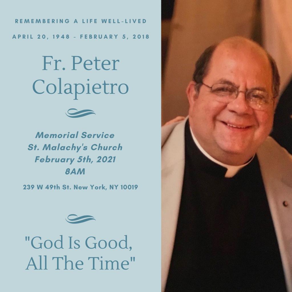 Remembering Fr. Peter_2021