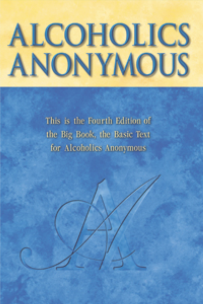 Alcoholics Anonymous Book Cover