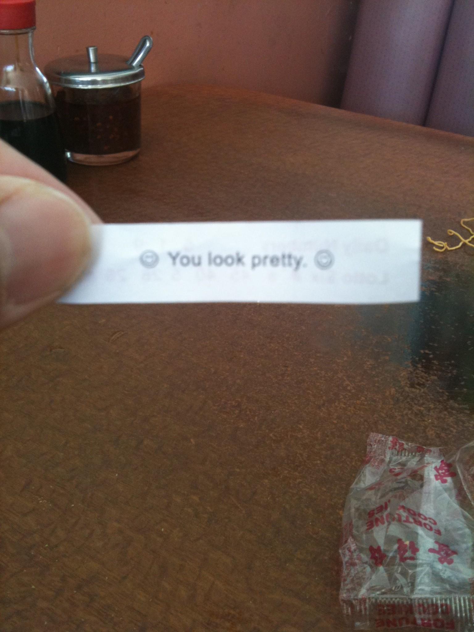 You Look Pretty!