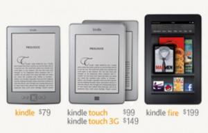 新しい Kindle ファミリー