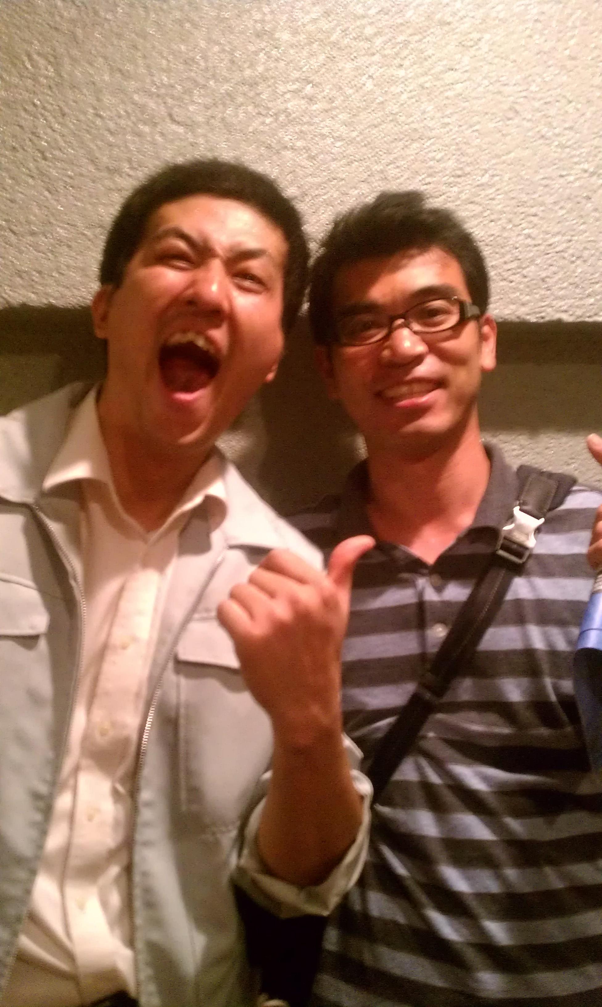 かつての部活仲間と20年ぶりの再会!