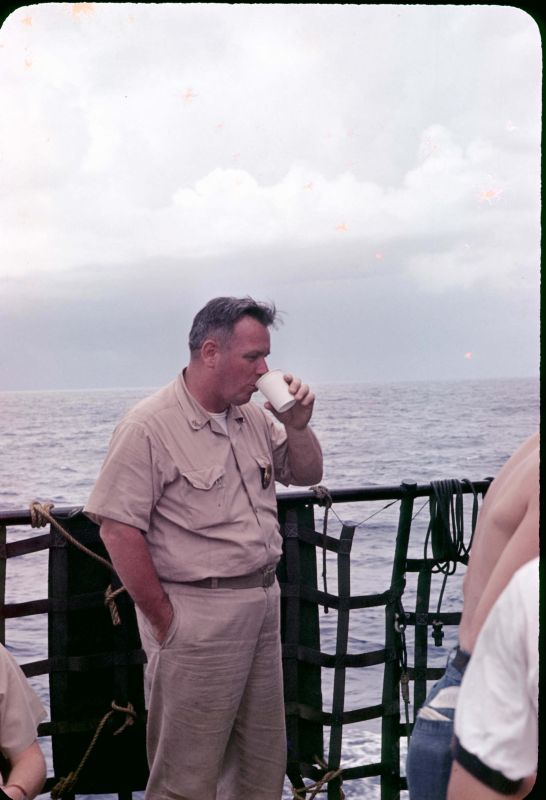 Chief Smith joined Navy in aug 1941 saw action against fr battleships at calais