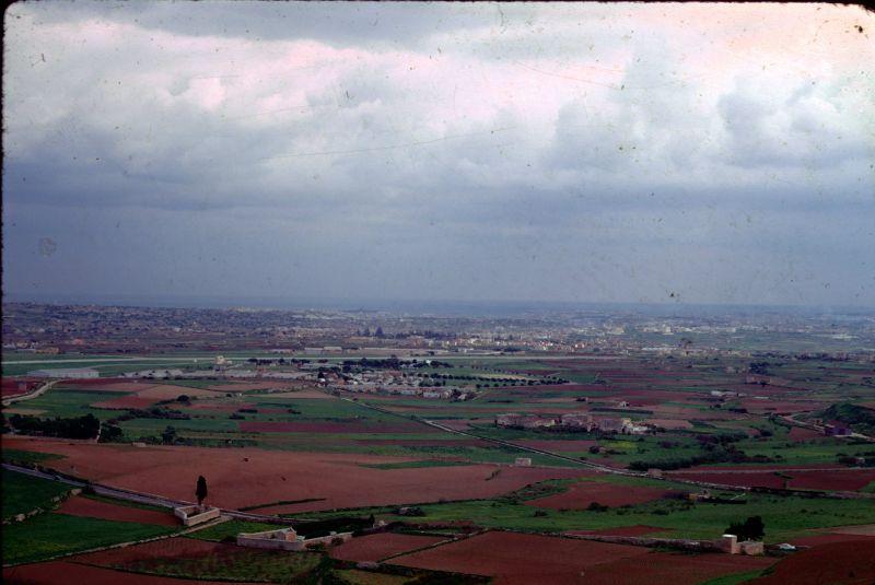 Fields below Carthusian Monastery in Majorca