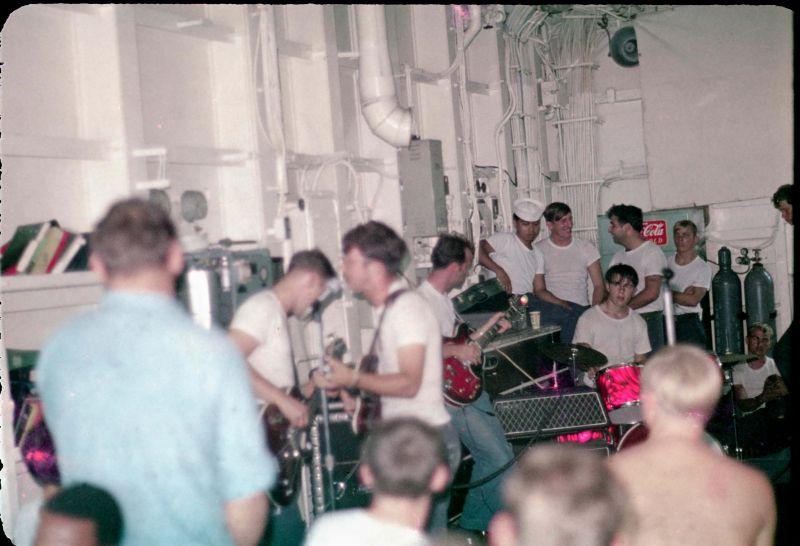 Flight deck concert