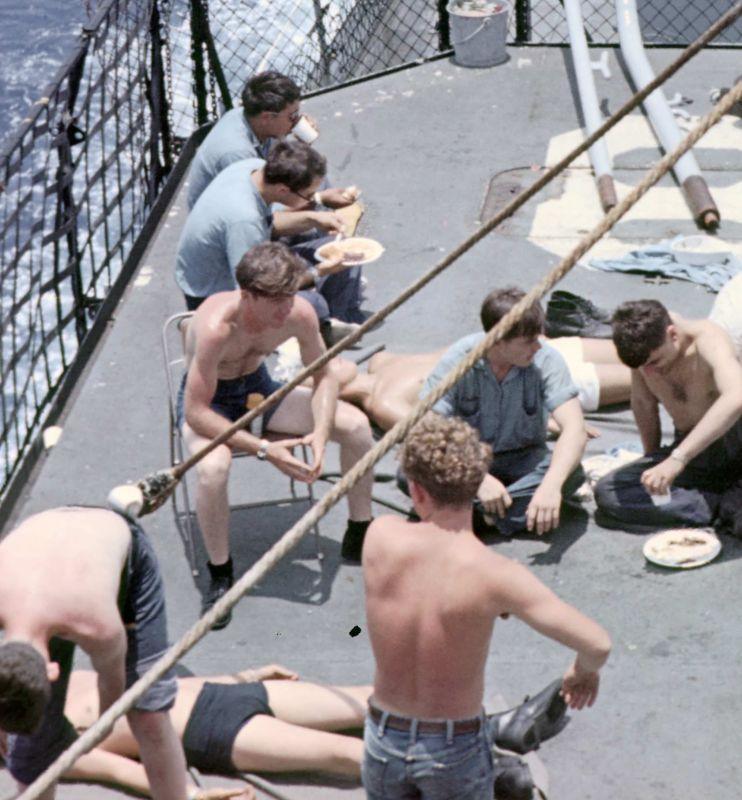 Flight deck group 1