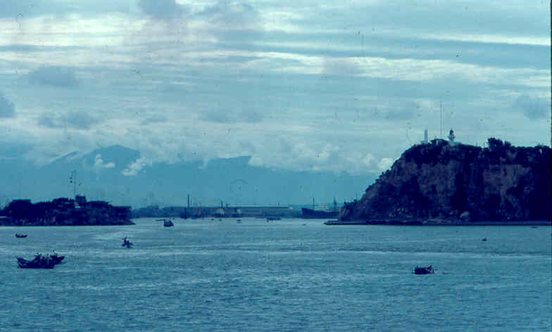 Kao-shiung Harbor Entrance