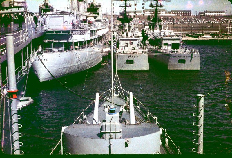 Moored Ships April 1967