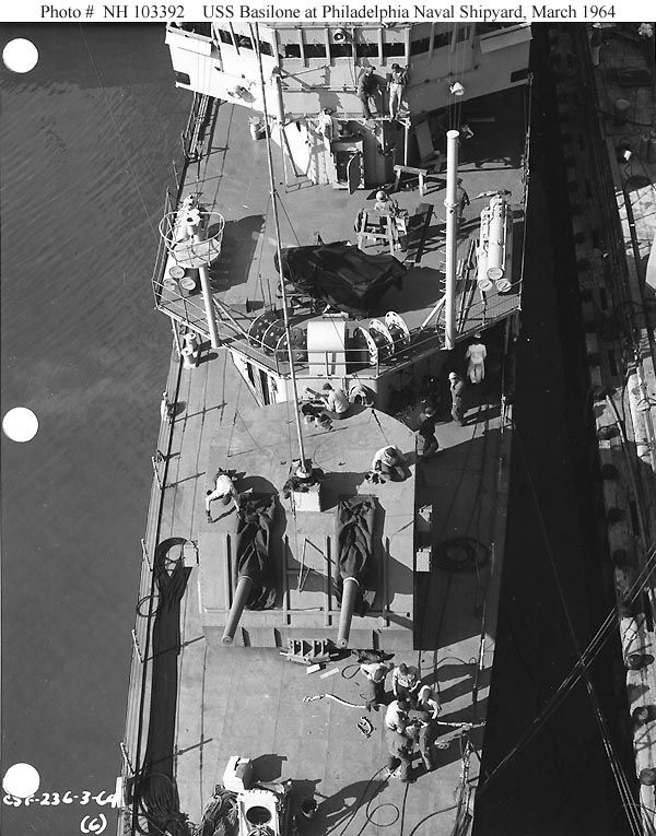 View of Mt 51 and fwd 01 level.  PNS, Mar. '64