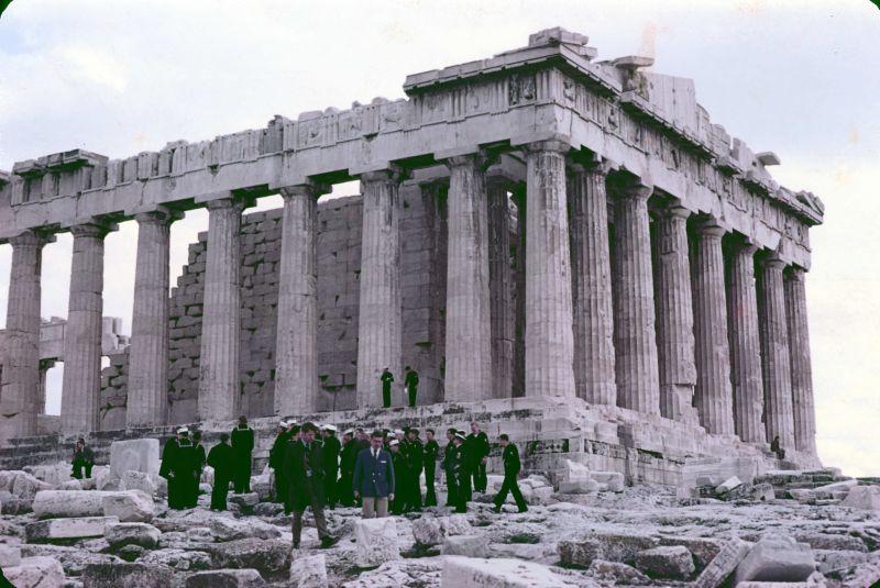 Parthenon 1969 navy tour
