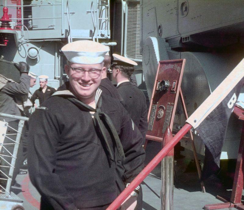 SA Sims (Carl Sims) had to be before April 67 when I made seaman