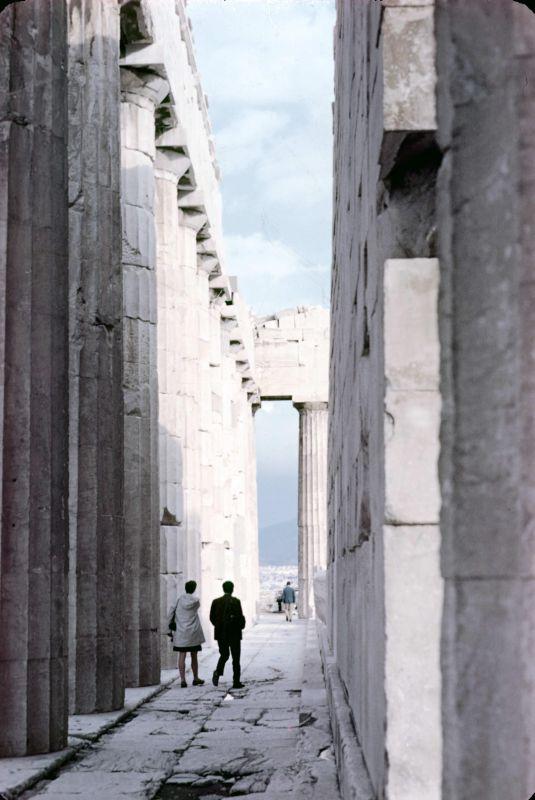 Touring the Acropolis