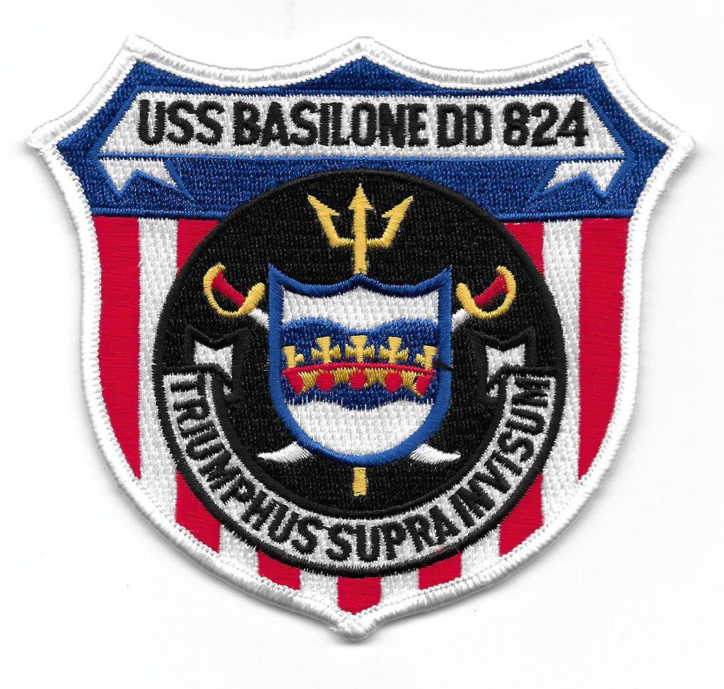 USS Basilone Patch