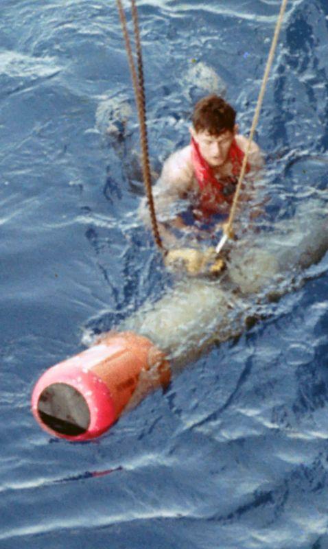 slide 5 closeup torpedo recovery swimmer