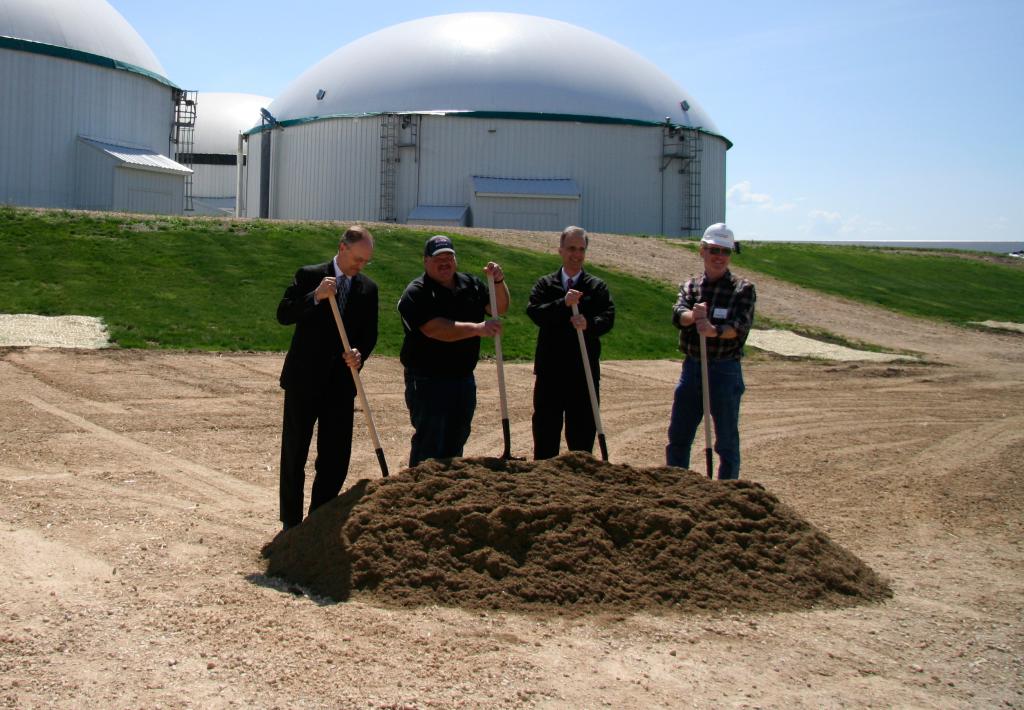(left to right) Ben Brancel, Chuck Ripp, Joe Parisi, John Haeckel