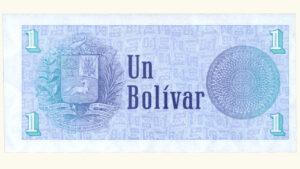 """VENEZUELA 1 Bolívar """"Tinoquito"""", Oct-05-1989, Serie X8 Reposición UNC"""