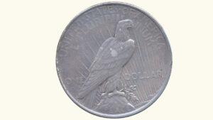"""E.E.U.U 1 Dólar """"Peace"""", 1922, VF"""