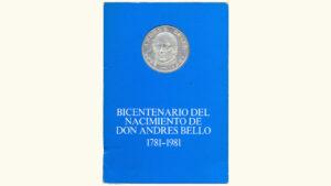 """Venezuela 100 Bolívares """"Bicentenario de Andrés Bello"""", 1981, UNC"""