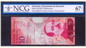 Venezuela, 10 Bolivares, Coleccionistas de Maracaibo