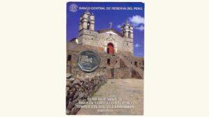 "Peru, 1 Sol ""Serie Numismática Alusiva Al Templo Del Sol Vilcashuaman"""", 2012, UNC"