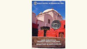 """Peru, 1 Sol """"Serie Numismática Alusiva Al Monasterio De Santa Catalina"""""""", 2011, UNC"""
