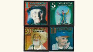 """Venezuela Set 1 – 20 (4 pcs) El Sanareño """"Con Serial"""", 2011, UNC"""