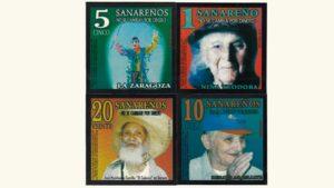 """Venezuela Set 1 – 20 (4 pcs) El Sanareño """"Sin Serial"""", 2011, UNC"""