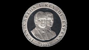 "España 2000 Pesetas ""Olimpiadas de Barcelona 1992 – Jinete Ibérico"""", 1992, AU"