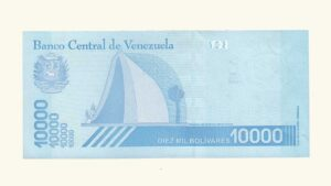 Venezuela 10000 Bolívares Soberanos, Enero-22-2019, Serie X8 (Reposición), UNC.
