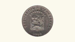 "VENEZUELA 12 1/2 Céntimos ""Locha"", 1958, XF+/AU"