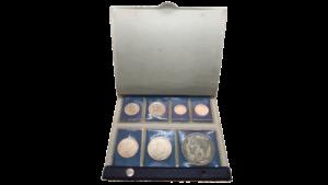VENEZUELA Set de 7 Monedas En Estuche Protocolar B.C.V.