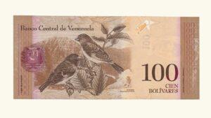 Venezuela 100 Bolívares Fuertes, Agosto-19-2014, Prueba de Impresión UNC