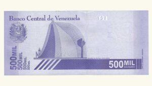 Venezuela 500000 Bolívares Soberanos, Septiembre-03-2020, Serie X8 (Reposición), UNC