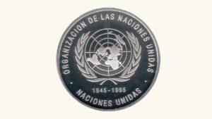 """VENEZUELA 500 Bolívares, """"Quincuagésimo Aniversario de la Organización de las Naciones Unidas"""" 1995 UNC"""