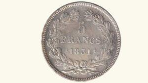 Francia 5 Francs, 1831, XF