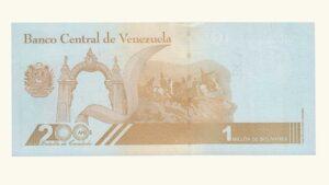 Venezuela 200000 Bolívares Soberanos, Septiembre-03-2020, Serie Z8 (Reposición), UNC