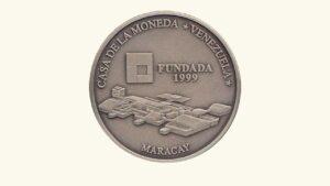 """VENEZUELA 6000 Bolívares """"Fundación de la Casa de Moneda de Venezuela"""" , 1999, UNC."""