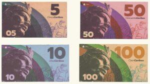 Venezuela Set De Billetes Comunales Caribes AU